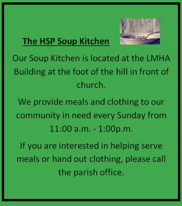 St Patrick Soup Kitchen Historic St. Patrick News and Events