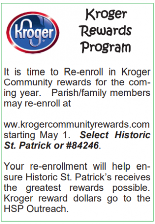 Historic St. Patrick News and Events